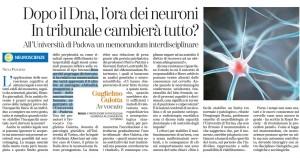 neuroni in tribunale